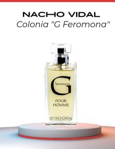 Perfume para hombre - G Feromona - Nacho Vidal