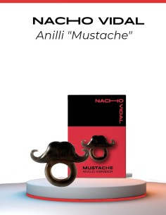 Mustache Vibrating Ring