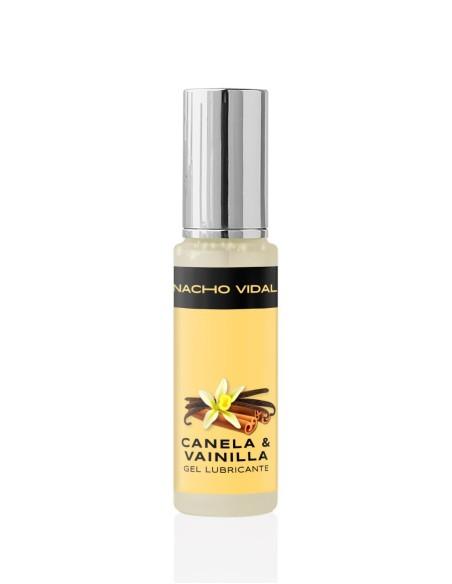Gel lubricante natural sabor Canela