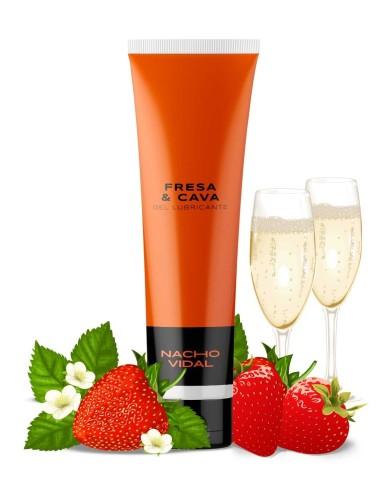 Gel lubricante íntimo sabor Fresa y...