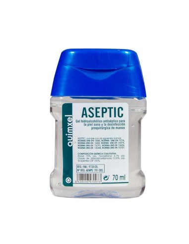 Hydroalcoholic Gel 70 ml | Aseptic