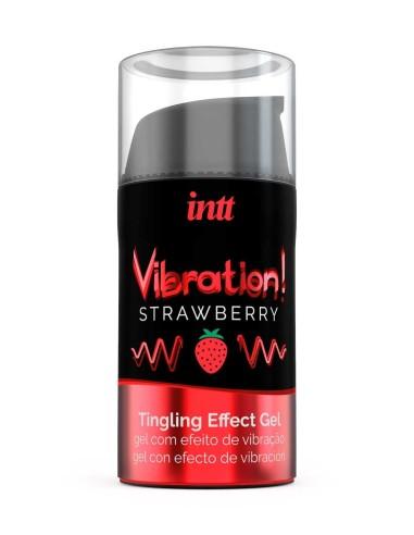 Vibration Gel Strawberry - INTT