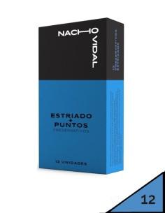 Preservativos estriados +...